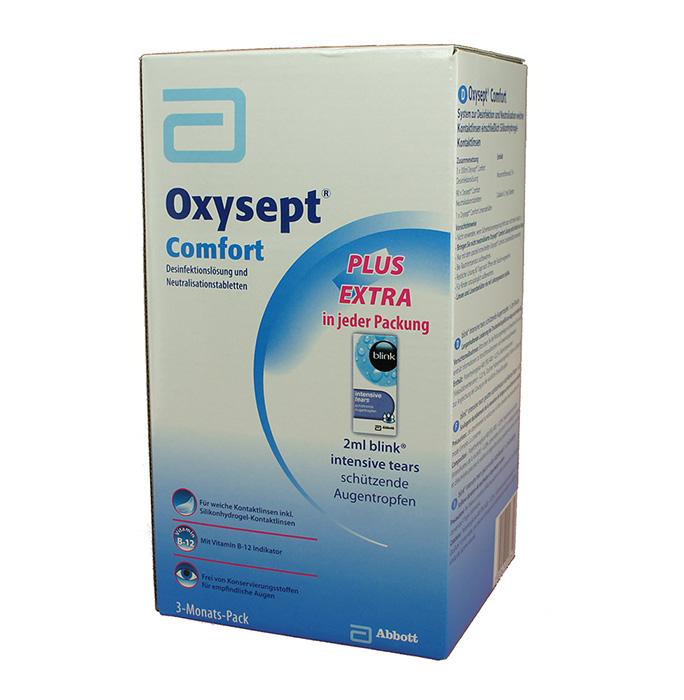 Oxysept Comfprt 3 Mt Pack